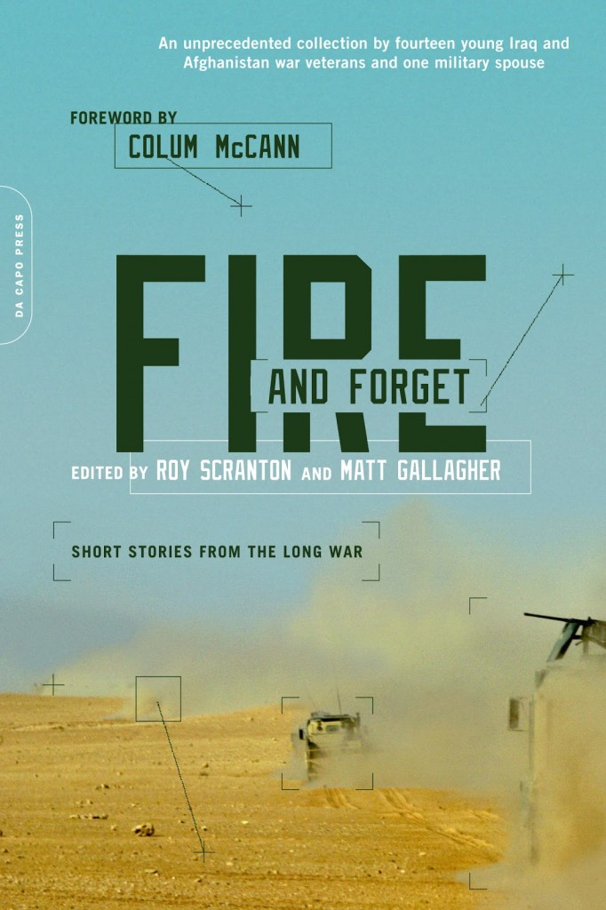 book cover for Fire and Forget: Short Stories from the Long War