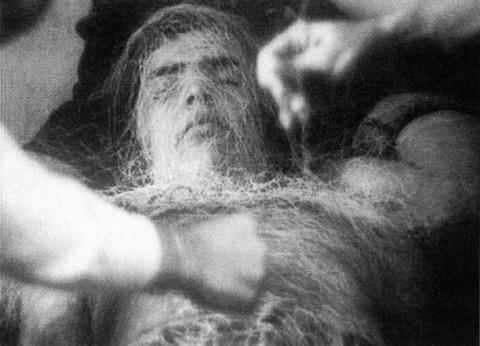 Lygia Clark's «Baba antropofágica», 1973